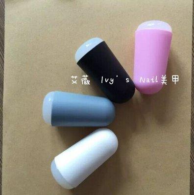 艾薇 Ivy's Nail美甲批發╭*美甲轉印鋼板專用彩繪印花工具 2015高檔新款美甲磨砂印章 美甲印章 磨砂膠印頭