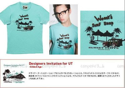 ├UFC┤UNIQLO 男裝【6-3 Dilded Age (SURF LABELS) 】Surf Shop (057676) 現貨