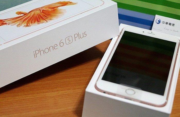 『皇家昌庫』 APPLE IPhone 6S Plus 64G 5.5吋 100%成新 玫瑰金 .已更換整新機 完美