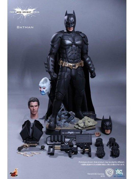 HOT TOYS 1/4 QS001 蝙蝠俠 BATMAN 黑暗騎士 黎明升起 1:4