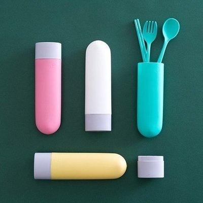 糖果色環保餐具三件組 環保餐具 餐具 ...