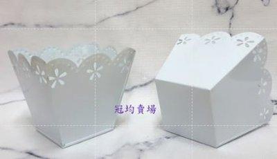 雲朵邊-正方形鐵桶 /蝶古巴特 Decoupage 拼貼 帆布袋 木器 彩繪 胚布 DIY 黏土 手作