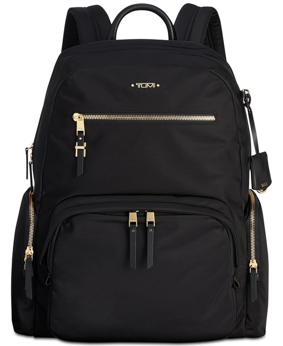 Coco小舖 TUMI Voyageur Carson Backpack  黑色後背包