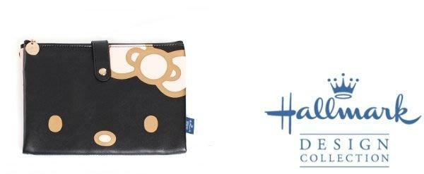 證件夾 護照夾 通帳套 Hallmark KITTY 愛心黑色/粉色 分售  奶爸商城  127 特價 特價 特價