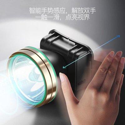 落伍者LED頭燈強光充電遠射3000米頭戴式手電筒超亮夜釣捕魚礦燈