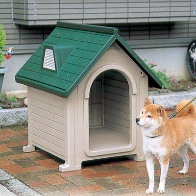 利其爾 RICHELL 易清掃透氣塑膠 中型犬 狗屋 狗別墅 犬舍(DX-580)厚塑板防水,架高不易潮 3,900元