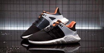 【路克球鞋小天地】愛迪達 Adidas EQT Support 93/17 9317 Welding 黑橘 限量