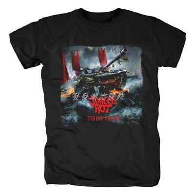 發發潮流服飾美國Jungle Rot老式死亡金屬Terror Regime專輯流行音樂紀念T恤