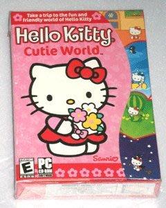 *【幼兒教育CD-ROM】小pen *Hello Kitty cutie world*Kitty的可愛世界~免運費
