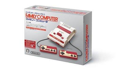 任天堂 主機 Nintendo Famicom Mini 迷你 原廠 紅白機 內含30款遊戲 (全新品)【台中大眾電玩】