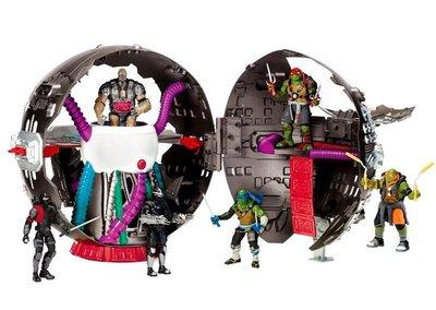 D-9 櫃 : 忍者龜 NINJA TURTLE 巨大場景 TECHNODROME SPHERICAL BASE  天貴