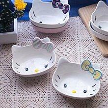 《宇煌》韓式日式可愛卡通hello kitty貓陶瓷碗 餐碗6入套組