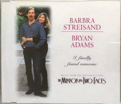 《絕版專賣》芭芭拉史翠珊 & 布萊恩亞當斯 / I Finally Found Someone 單曲