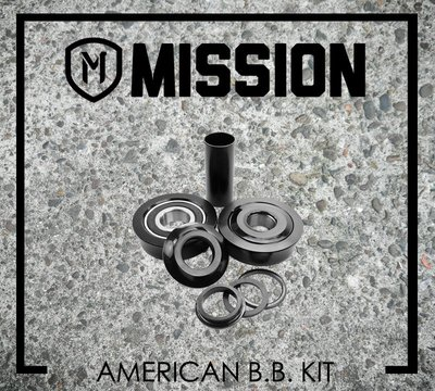 [Spun Shop] Mission BMX American Bottom Bracket Kit 五通軸承組