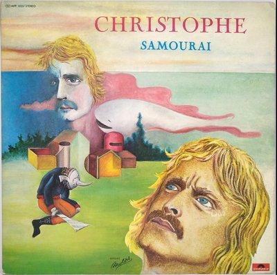 黑膠唱片 Christophe – Samourai - 1976 Polydor