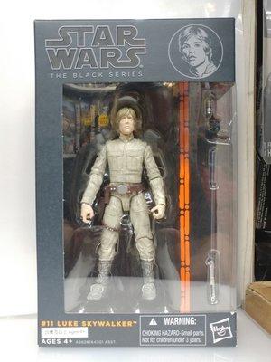 "Hasbro Star Wars Black Series 6"" #11 Luke Skywalker"