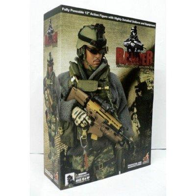 全新 Hot toys 1/6 US ARMY RANGER 75TH REGIMENT MK16 SCAR-L