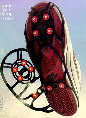 PENNON OUTDOOR 雪地六爪硬合金防滑鞋套(適用各類平底鞋款) 雪鞋 男款