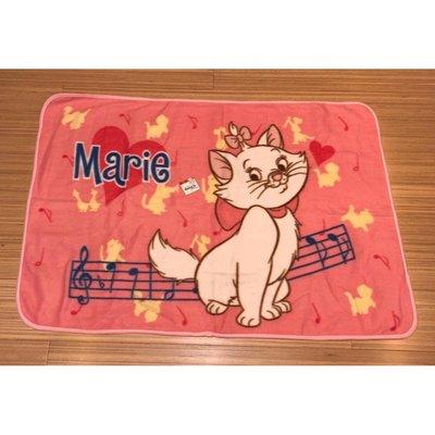 日本 Disney Home 景品 可愛 Marie 富貴貓 BB 冷氣毛毯 一張 (保證日版)