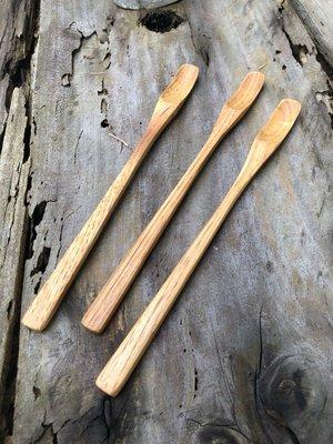 竹藝坊~H2-1栗木款長匙/咖啡攪拌匙/木製湯匙/木匙/深色木