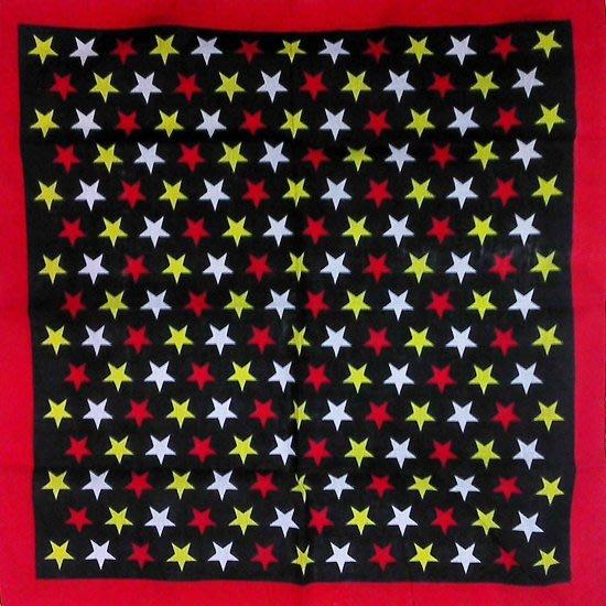 【順勢批發站】G15 星星頭巾 民族風 豹紋頭巾 變形蟲 可愛寵物領巾 校園運動會比賽識別