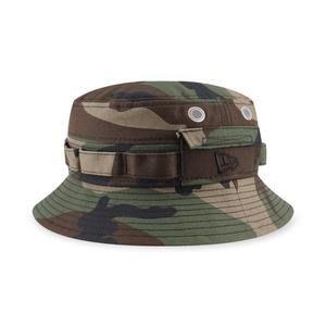 南 2021 2月 New era 漁夫帽 迷彩 狩獵帽 遮陽帽 男女 軍帽 BUCKET NE12711577