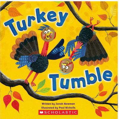 *小貝比的家*TURKEY TUMBLE火雞英文繪本/平裝/3~6歲/感恩節