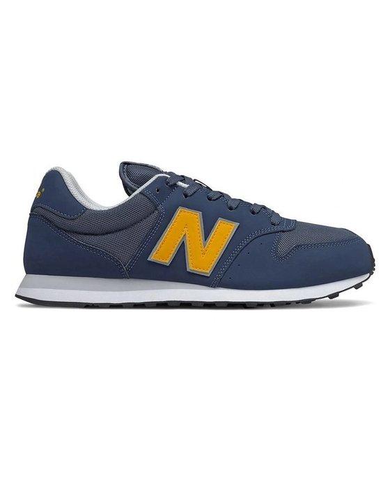 南◇2020 8月 NEW BALANCE 500 黃色 藍色 GM500VC1 復古 休閒 男鞋