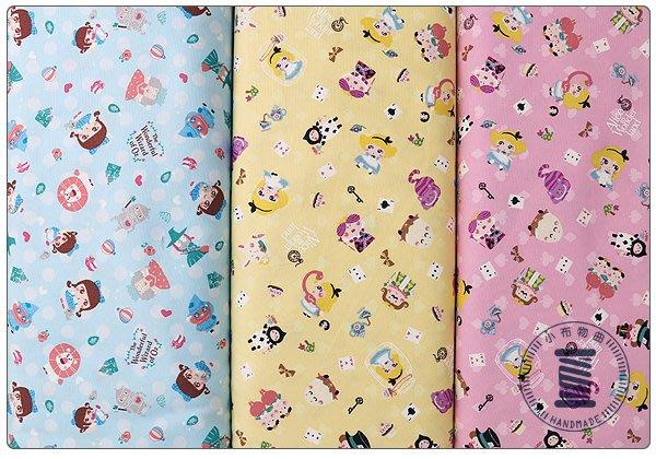 ✿小布物曲✿童話系列-4綠野仙蹤窄幅110CM 日本進口100%純棉布料(厚)  共3色 單價/尺
