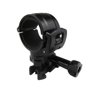 小青蛙數位 行車記錄器支架 支架 燈架 GOPRO接座 機車行車記錄器支架 圓形電筒支架