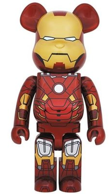 Bearbrick 1000%  Iron Man Mark VII