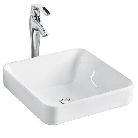 浴室的專家 *御舍精品衛浴 KOHLER Forefront 拂朗系列 方圓形上崁盆 時尚臉盆 K-2661X