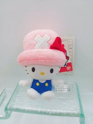 日本三麗鷗 ONE PIECE x HELLO KITTY聯名特別版鑰匙圈吊飾