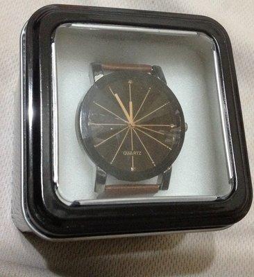全新Quartz男士錶附盒適合送禮