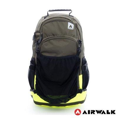 [免運]【AIRWALK】簡易時尚攜帶式球類運動後背包