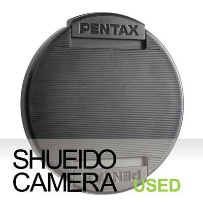 集英堂写真機【1個月保固】中古良上品 / PENTAX 82mm 原廠 前鏡頭蓋 #55 18038