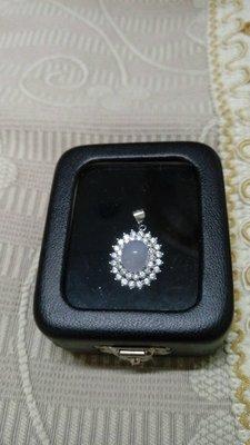 925銀銀墬子紫羅蘭冰蛋+鋯石
