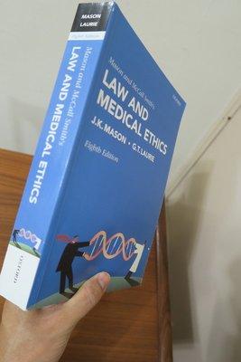 【英文舊書】[哲學]Mason & McCall Smith's Law & Medical Ethics法律與醫學倫理