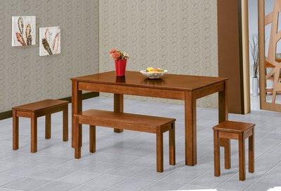 【南洋風休閒傢俱】餐廳家具系列-柚木色小比特5尺餐桌 餐桌 餐廳桌 (金610-2)