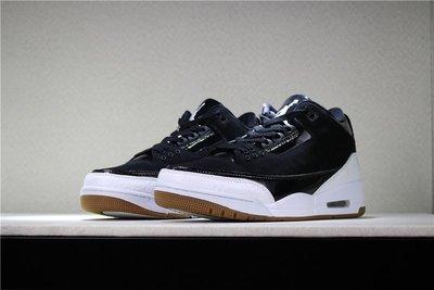 """Air Jordan 3 GS """"Black/White""""黑白 經典 低筒 休閒運動籃球鞋 男鞋 441140-022"""