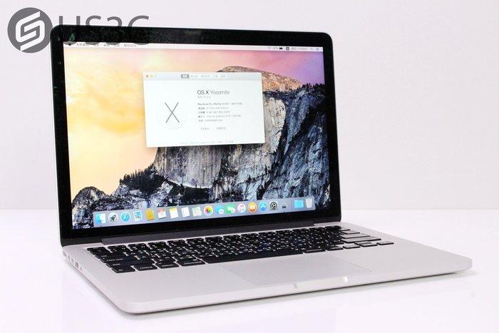 【US3C】2015年初 公司貨 MacBook Pro Retina 13吋 i5 2.7G 8G 256G 二手筆電