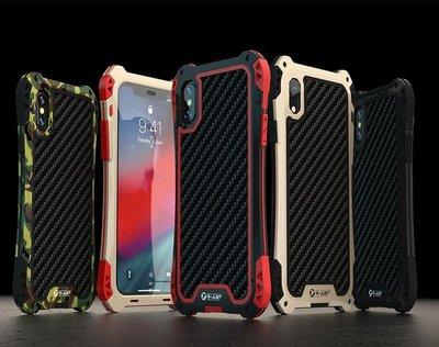 新☆雷神機甲☆五色i Phone XR-Xs Max超跑R☆防摔鋁合金屬邊框背蓋手機殼保護殼7-8 Plus