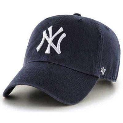 【YZY台灣】47 BRAND NEW YORK YANKEES 洋基 老帽 復古帽 老爺帽 MLB LOGO 經典 藍