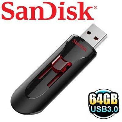 公司貨 SanDisk 64G 64GB Cruzer Glide CZ600 USB3.0 隨身碟