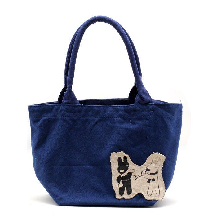[瑞絲小舖]~日單gaspard et lisa卡斯伯與麗莎厚實帆布做舊手提袋 手拎包 便當袋 午餐袋