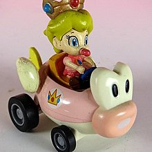 【 金王記拍寶網 】品 M263 SUPER MARIO 嬰兒碧姬迴力小賽車一台 罕見稀少~(((瑪莉歐公仔賣場)))