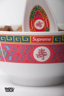 ►Shadow x Clown◄ Supreme Longevity Soup Set 2016 中國風 壽碗 湯匙組