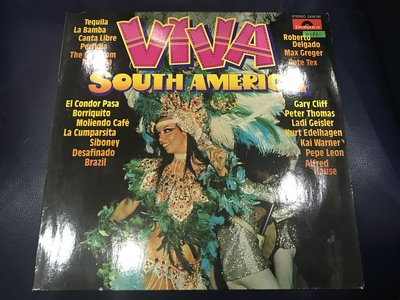 開心唱片 (VIVA SOUTH AMERICA / ) 二手 黑膠唱片 D191
