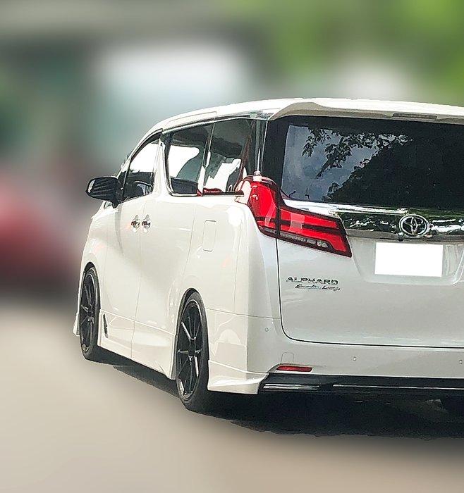 DJD19060543 Toyota 豐田 Alphard 尾翼 國外進口版 依當月報價為準