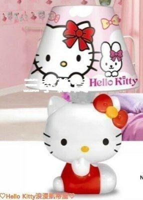 三季Hello Kitty 檯燈 夜燈 臥室 小夜燈 床頭燈 凱蒂貓造型檯燈❖758